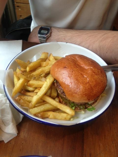 Gluten-full Honest Burger