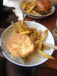 Gluten Free Cheeseburger