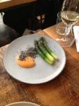 Asparagus, Black Sesame, Gochujang