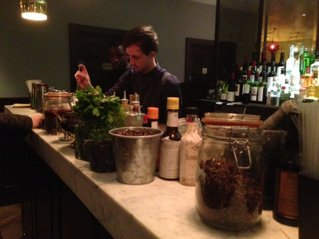Dishoom Barman at Work
