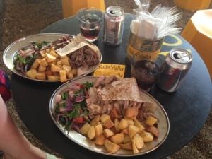 Beirut Street Food at Yalla Yalla