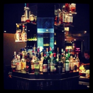 The bar at Aqua Spirit