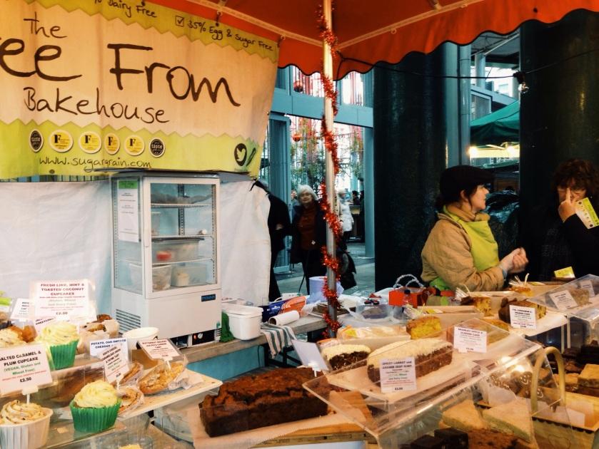 borough market gluten free