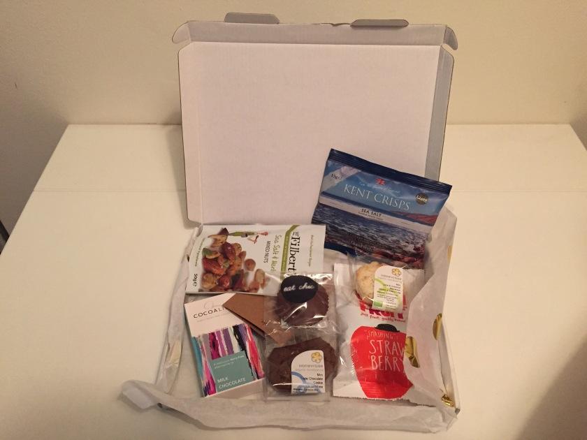 snackly gluten free box
