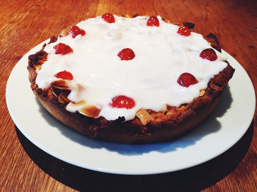 gluten free bakewell tart