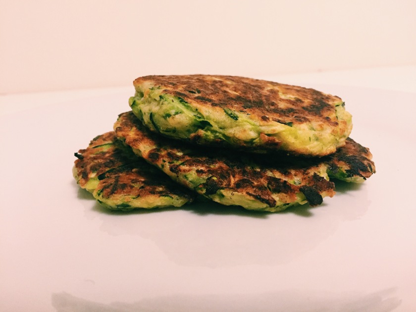 gluten free courgette fritters