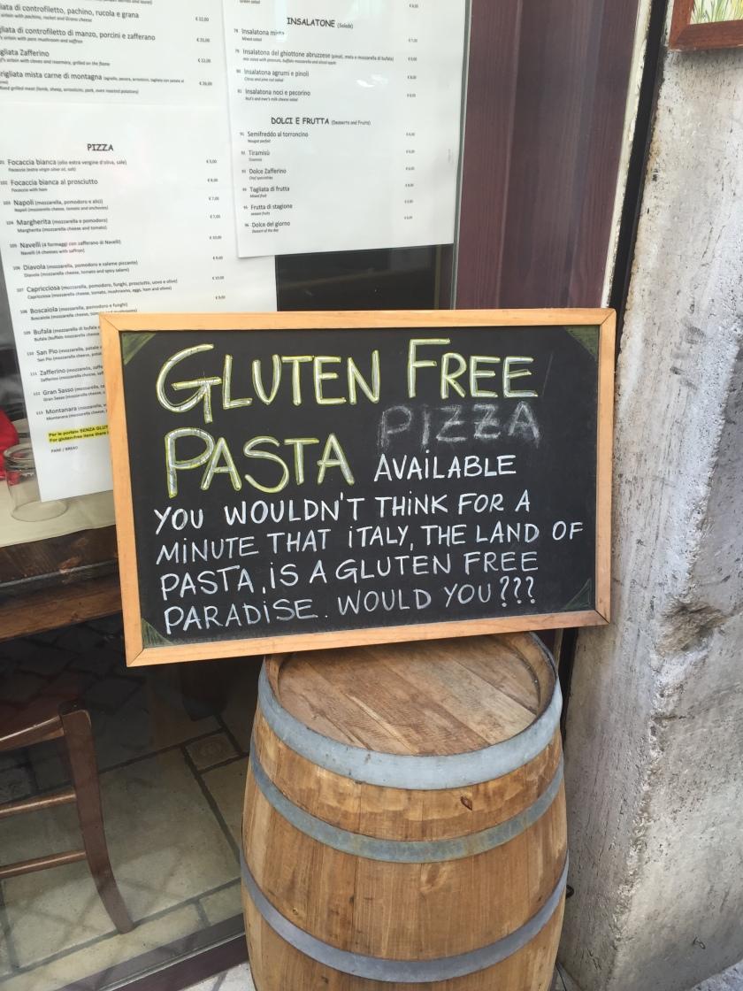 gluten free rome 2